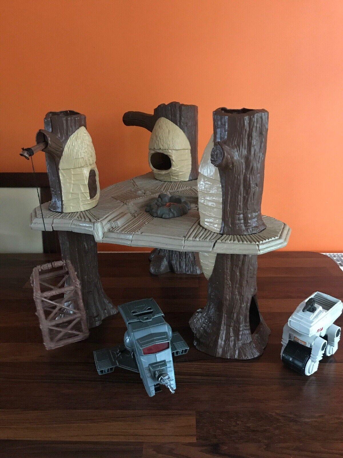 Star Wars Vintage Ewok Village, garde forestier