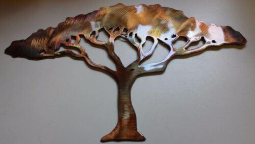 "Acacia Tree 18/"" tall Metal Wall Art"