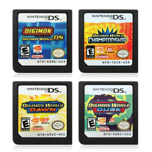 Details about Digimon World DS,Dusk,Dawn & Championship Version Game Card  for Nintendo 3DS Hot