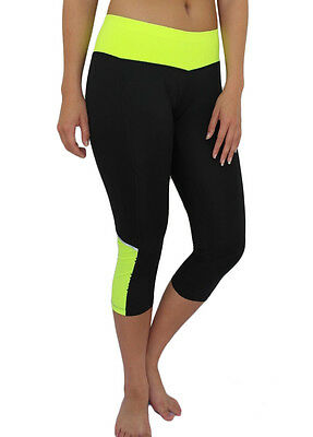 W-Sport® Women's Workout Fitness Training Sports Athletic Yoga Capri Legging 858
