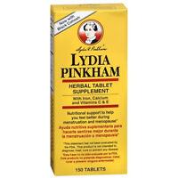 Lydia Pinkham Herbal Tablets 150ct 038485504157