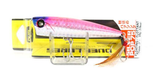 2681 Yo Zuri Duel Silver Pop 75 Floating Popper Lure F941-SHP