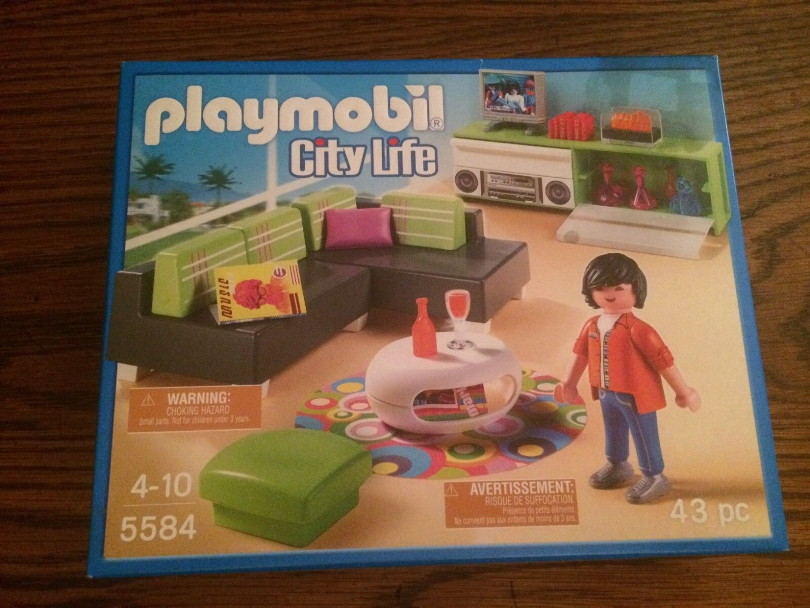 Playmobil 5584 Modern Luxury Mansion Living Room Set New in Box