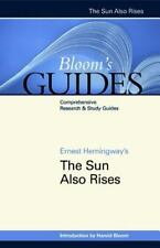 The Sun Also Rises (Bloom's Guides)-ExLibrary