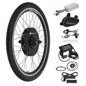 "LCD 28"" Hinterrad 1000W 48V Elektro-Fahrrad Kit Ebike Elektrofahrrad Umbausatz"