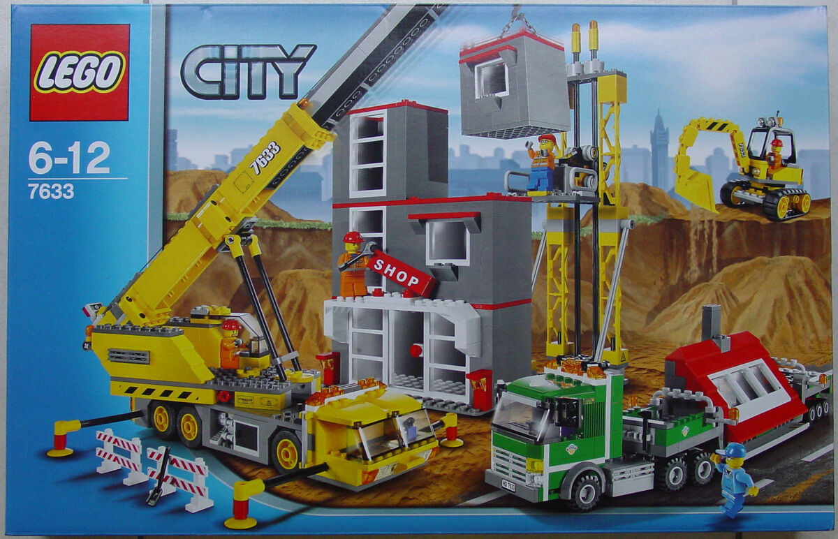 Lego Town City 7633 Construction Site Nuovo Sealed