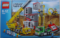 Lego Town City 7633 Construction Site Sealed