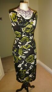 PHASE-EIGHT-Stretch-Wiggle-Pencil-Dress-Size-UK-8-Party-Evening