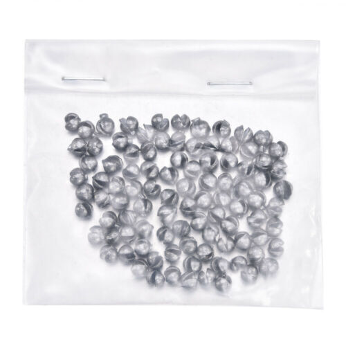 100Pcs Lead Split Shot Sinker Weights Sinkers For Fishing Squeezable Removable