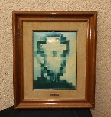 Tableau Lincoln Par Salvador Dali Lincoln In Dalivision Circa 1980 Ebay
