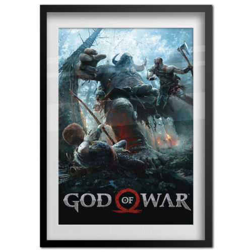 God of War Poster PS4 Exclusive 2018 High Quality Prints