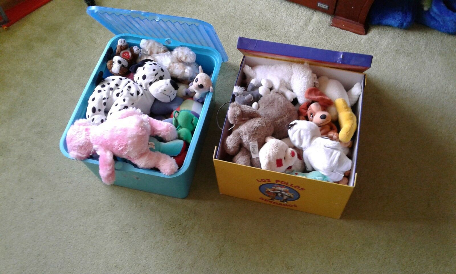 30 toys different brands,used,washed before sale,very good condition,+2 boxes