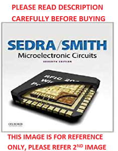 Microelectronic Circuits By Sedra Smith 6th International Softcover Ed Same Book 9780199339136 Ebay