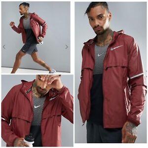 619 Burgundy Nike Giacca Uomo M Scudo 857856 Running wPnqRxS