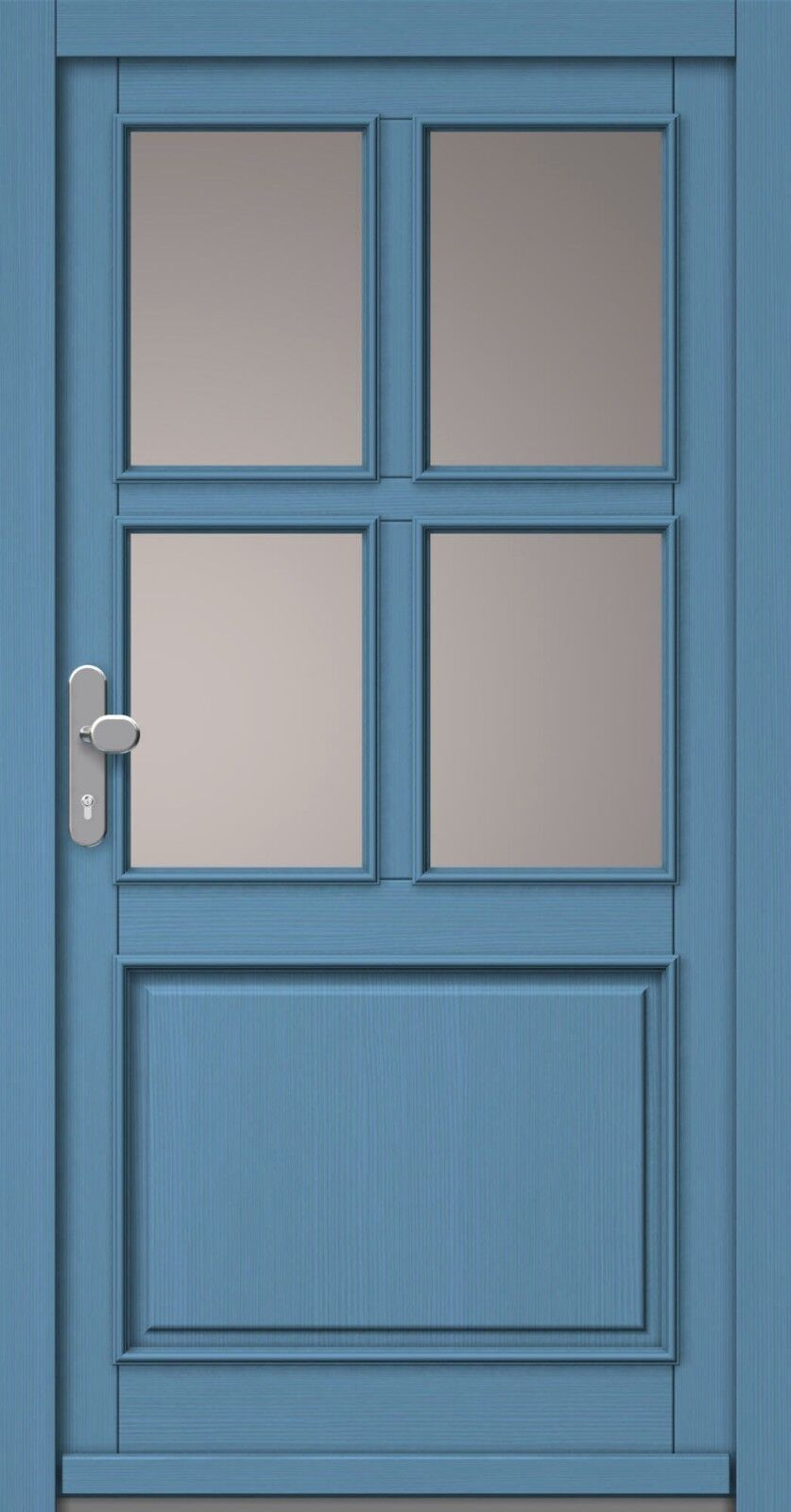 Haustür Haustüre Haustüren Holz Fichte Holztür Eingangstür Bautiefe 68 mm Neu