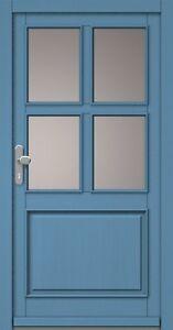 Haustuer-Haustuere-Haustueren-Holz-Fichte-Holztuer-Eingangstuer-Bautiefe-68-mm-Neu