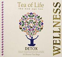 Tea Of Life Detox, 50 Round Tea Bags 2.6oz, New, Free Shipping on Sale