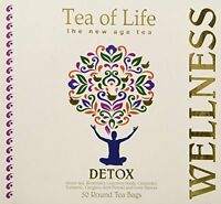 Tea Of Life Detox, 50 Round Tea Bags 2.6oz, New, Free Shipping