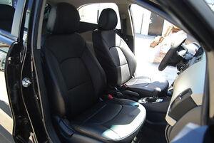 kia rio 2012 2013 leather like custom fit seat cover ebay. Black Bedroom Furniture Sets. Home Design Ideas