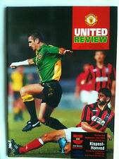 MINT 1993/94 Manchester United v Kispest Honved Champions League