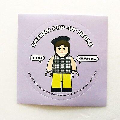 SM Artist Limited Edition SMTOWN POP-UP Store F(X) Block Figure Sticker