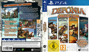 PS4 DEPONIA COLLECTION - PLAYSTATION - alle Teile - 4 Spiele *** NEU ***