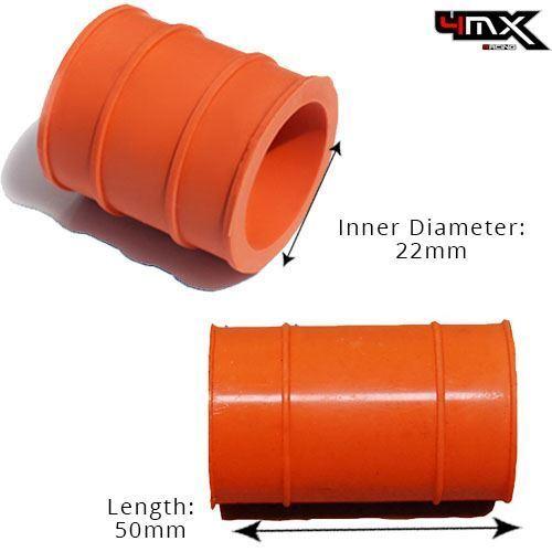 KTM Rubber Exhaust Seal Orange 22mm fits 2009 150 SX US