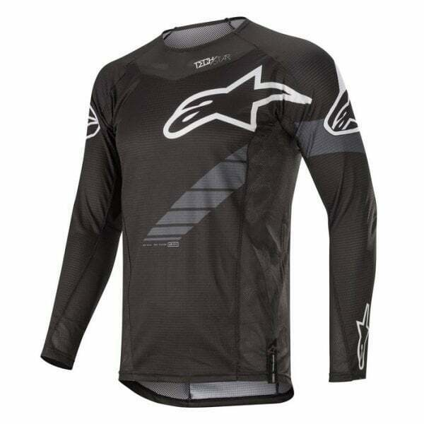 Alpinestars  2020 Adults Techstar Graphite Motocross MX Enduro Bike Jersey  everyday low prices
