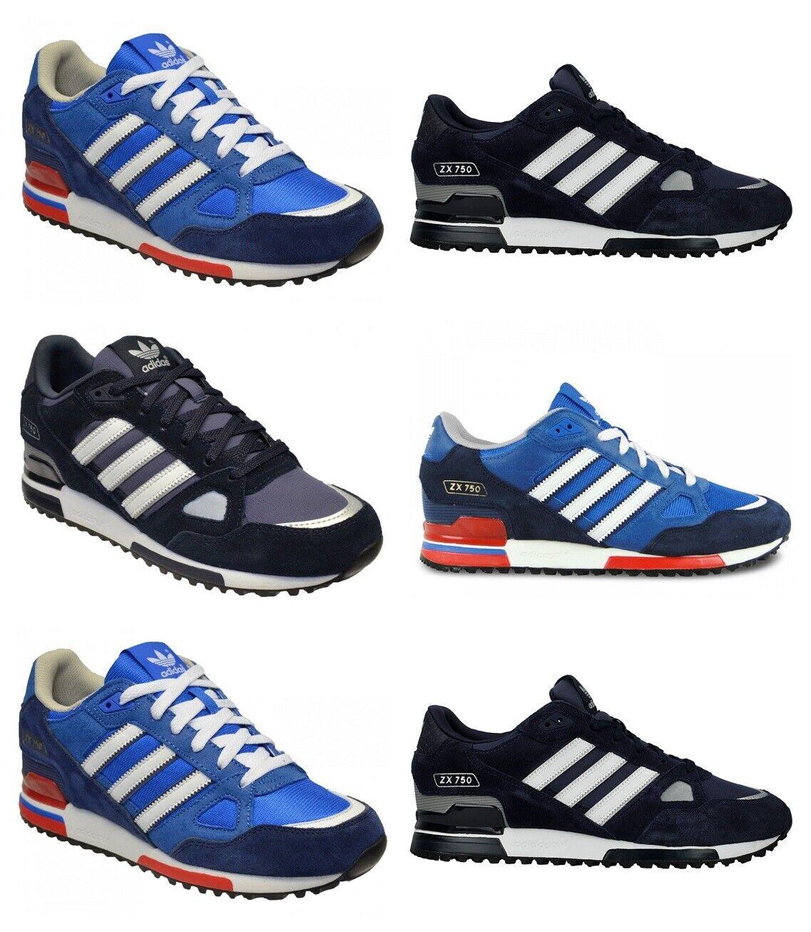 Adidas Originals ZX 750 Zapatillas para hombre de Ante Deportivos Zapatillas