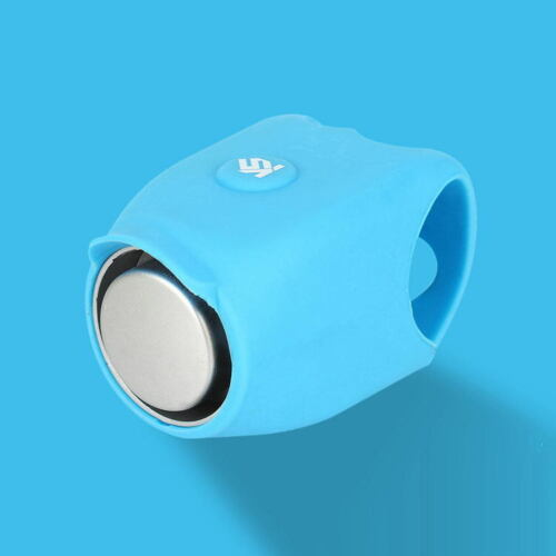 Electric Cycling Bell 120dB Waterproof Silicone Shell MTB Bicycle Handlebar Horn