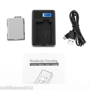 In For Canon Eos 450d 500d 1000d Camera Battery Lp-e5 Charger Superior Quality