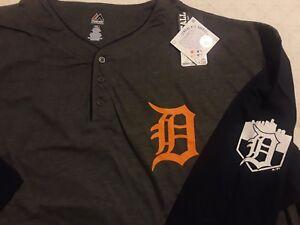 Big-amp-Tall-Mens-Detroit-Tigers-Jersey-Licensed-Sizes-2x-3x-5x-6x
