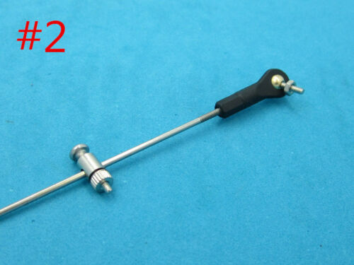 Servo Rudder M2 Stainless steel Arm Linkage Clip Adaptor Fixed Wing Rc Boat 1194