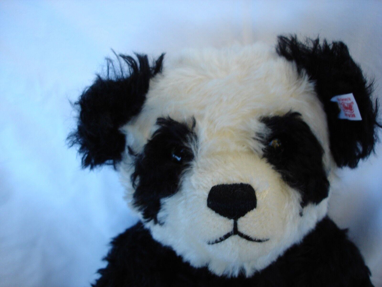 Steiff Panda Bear esclusivo per il Regno Unito e Irlanda LTD ED