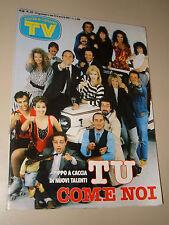 TV SORRISI CANZONI=1987/22=CUCCARINI=SALVATORE ADAMO=SORDI A.=SABRINA SALERNO=