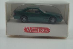 Agressif Wiking Voiture Miniature 1:87 H0 Mercedes-benz 500 Sl Nº 1410218 Pour RéDuire Le Poids Corporel Et Prolonger La Vie