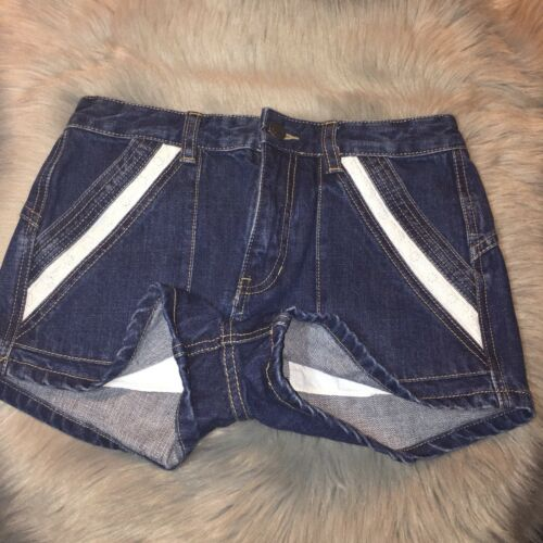 Pocket D Jeans Shorts Denim 26 People Blue Taille mignon Free ZzqI8I