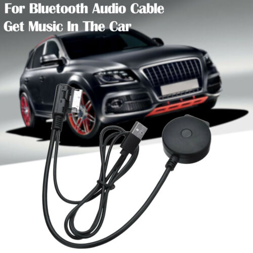 Car Bluetooth Aux Cable Adapter Dongle Audio Stereo For Audi A4L A5 Q7 Interface