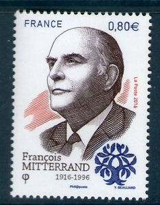 TIMBRE-5089-NEUF-XX-Francois-Mitterrand