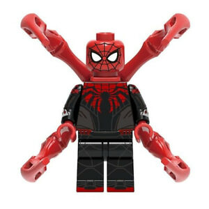 Shocker Marvel Superhero Mini Action Figure Toy Spider-Man Series Lego Moc