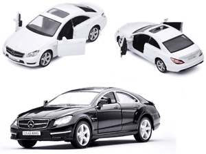 Mercedes-Benz-CLS-63-AMG-Diecast-Model-Car-Vehicle-Collection-Pull-Back-Toy-Gift