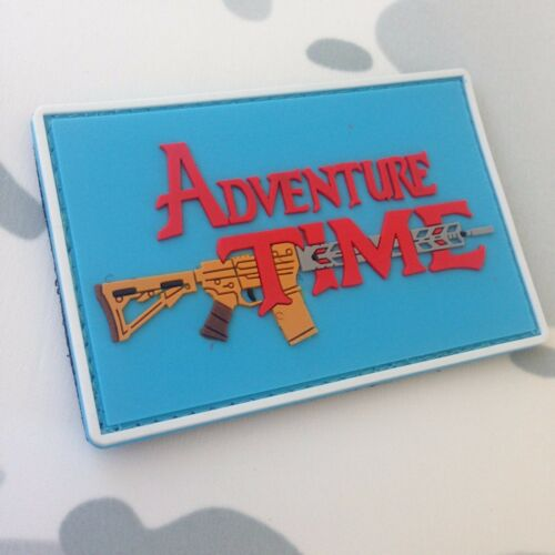 Original Current Army Patches Collectibles Adventure Time PVC ...