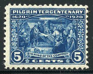 UNITED-STATES-PILGRIM-TERECENTENARY-SCOTT-550-NEVER-HINGED-SCOTT-VALUE-75-00