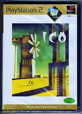 PS2 ICO (2004) NTSC J, coreano Big Hit Serie, totalmente nuevo y sellado de fábrica de Sony
