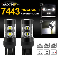 A Pair of CREE XR-E LED 7440 7443 992 Projector Reverse Back Up Light For ACURA