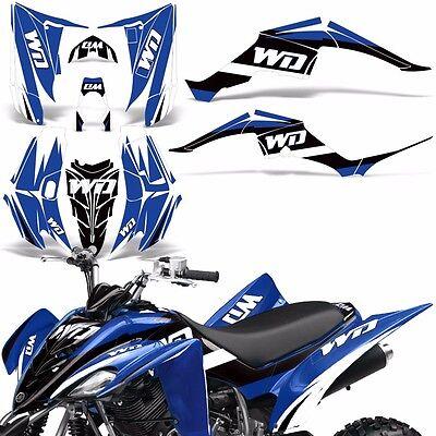 Yamaha Raptor 660 Decal Graphic Kit Quad ATV Wrap Deco Racing Parts 01-05 ICE Y