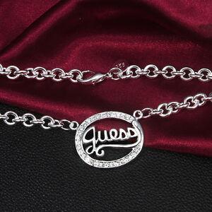 Silberkette-Kette-Halskette-Herz-Silberschmuck-guess-S925-Geburtstagsgeschenk-ok