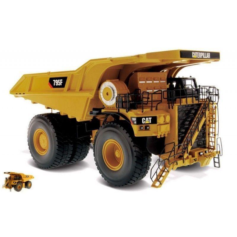 Caterpillar 1:50 Diecast Masters 795F AC 85515 Modelo De Camión de Minería de accionamiento eléctrico