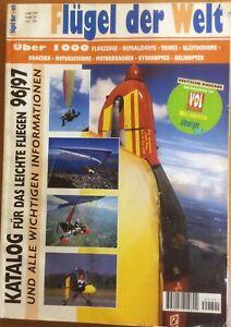 Flügel der Welt Katalog für Das Leichte Fliegen96/97