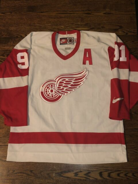 Vintage Nike Detroit Red Wings Sergei Fedorov Jersey NHL Hockey